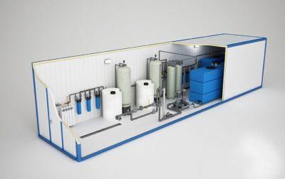очистка воды на промышленных объектов